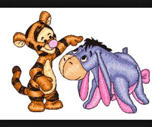 disney, eeyore, and winnie the pooh image