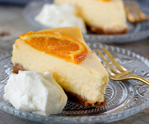 almond, cake, and cheesecake image