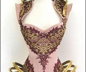 corset, costumes, and fashion image