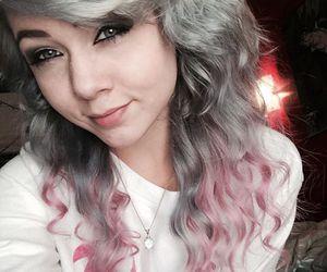 pink hair, pastel hair, and alt girl image