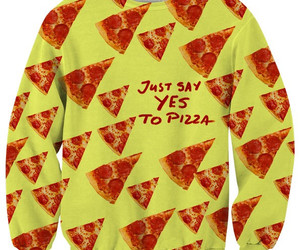 crazy, fashion, and pizza image