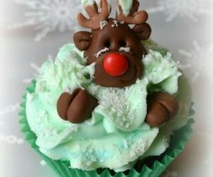 christmas, cupcake, and sweet image