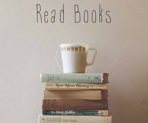 book, tea, and keep calm image