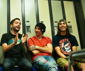 alex gaskarth, band, and pierce the veil image