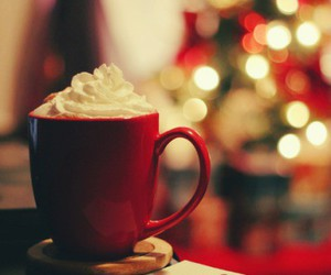 christmas, december, and coffee image
