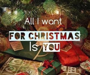 christmas, you, and present image