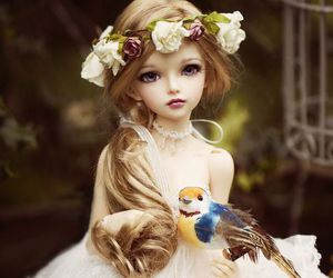 doll and white image