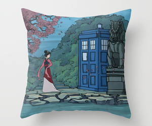 art illustration, bed, and doctor who image