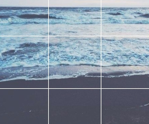 beach, hipster, and water image