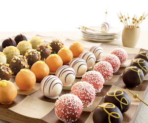 chocolate, yummy, and truffles image