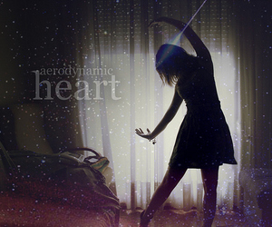 girl, dance, and heart image