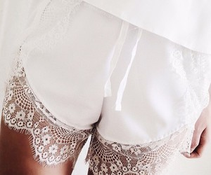 feminine, lace, and soft image