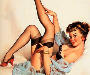 Pin Up and sexy image