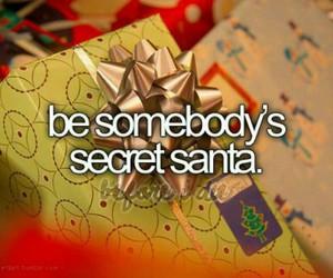 christmas, santa, and bucket list image