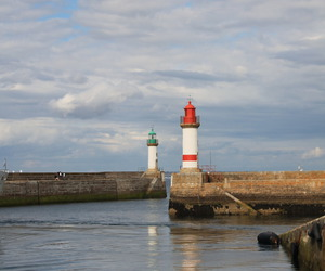 brittany, france, and lighthouse image