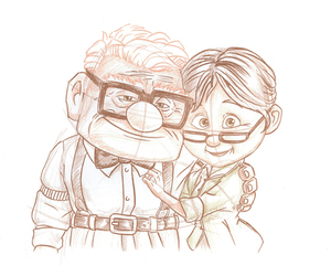 disney, up, and love image