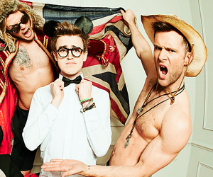 danny jones, gorgeous, and dougie poynter image