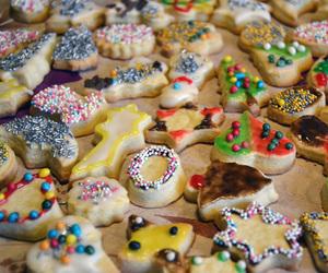 baking, christmas, and food image
