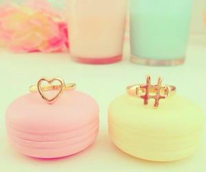 macarons and pink image