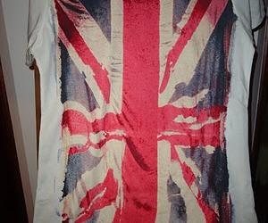 fashion, flag, and shirt image