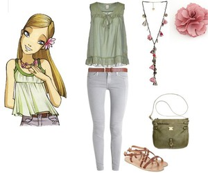 blond girl, Polyvore, and w.i.t.c.h image