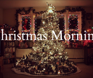 christmas, morning, and present image