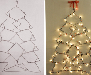 christmas, diy, and hanger image