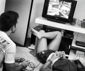 video games and love image