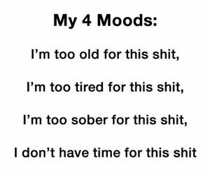 mood, shit, and funny image