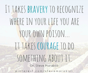 courage, bravery, and inspirational image