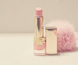 pink, lipstick, and makeup image