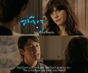500 Days of Summer, friends, and quote image
