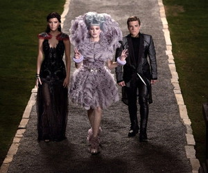 effie, katniss, and catching fire image