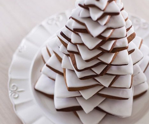 christmas, dessert, and food image