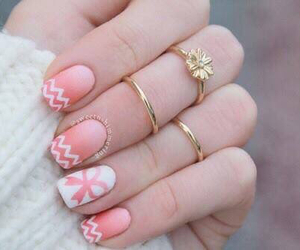 accessories, pink, and nails image