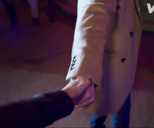 holding hands, louis tomlinson, and Harry Styles image
