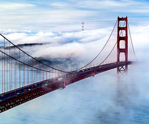 bridge, san francisco, and travel image