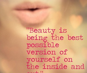 beauty, quotes, and inside image