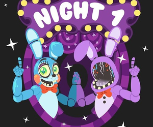 Bonnie, bon-bon, and five nights at freddy's image