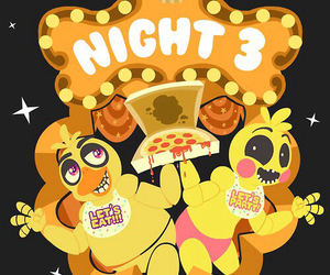 Chica, cupcake, and five nights at freddy's image