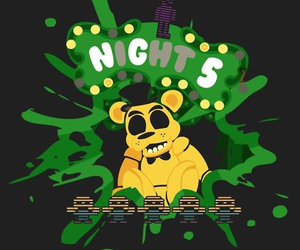 Freddy, five nights at freddy's, and fnaf image