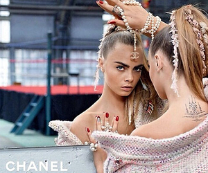 chanel, cara delevingne, and model image