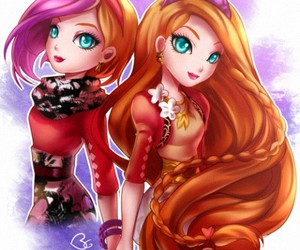 ever after high and sisters image