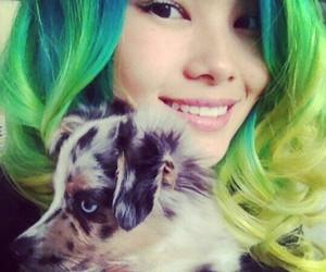 hair, beautifull, and cute dog image