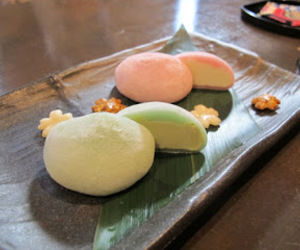 japonese food, mochi, and sweet image