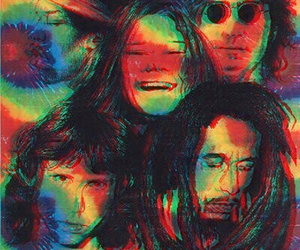3d, Jim Morrison, and john lennon image