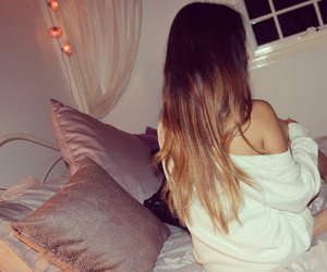 hair and bed image