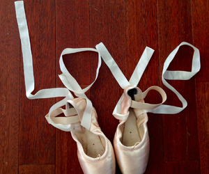 ballet, love, and dance image