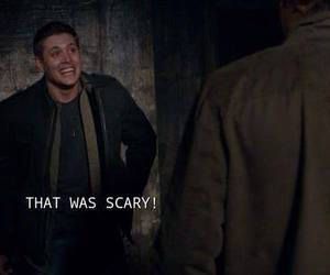 dean, funny, and supernatural image