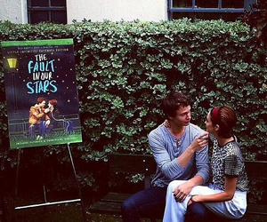 ansel elgort, the fault in our stars, and Shailene Woodley image